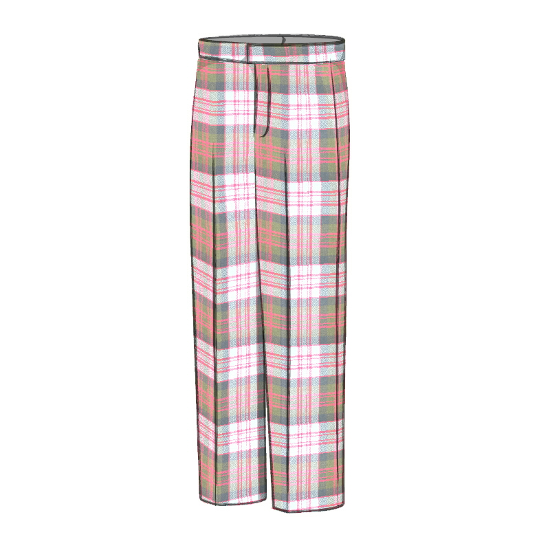 Men's Tartan Trousers - Classic Fit Made To Order