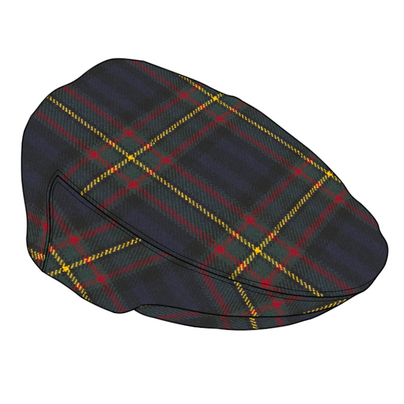 Tartan Flat Cap Made To Order