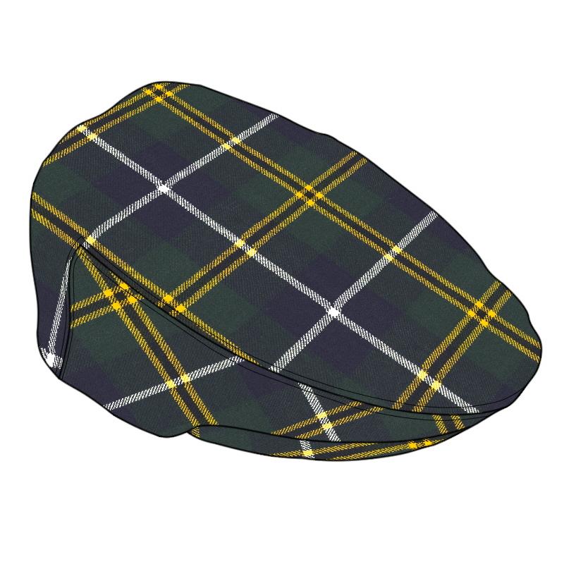 Tartan Flat CapMade To Order