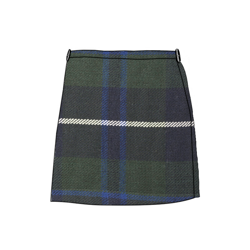 Girl's Polyviscose Kilt Made To Order