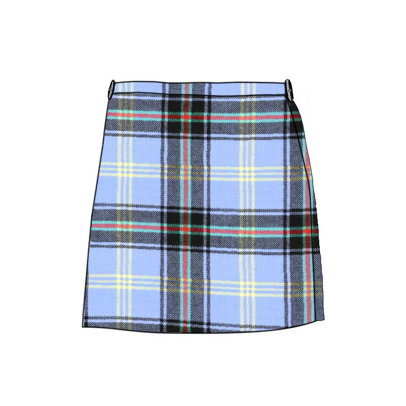 Girl's Wool Tartan Kilt