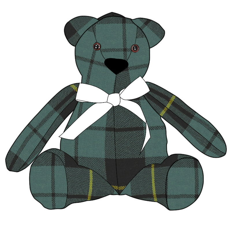 Tartan Ted in Wallace Hunting Ancient