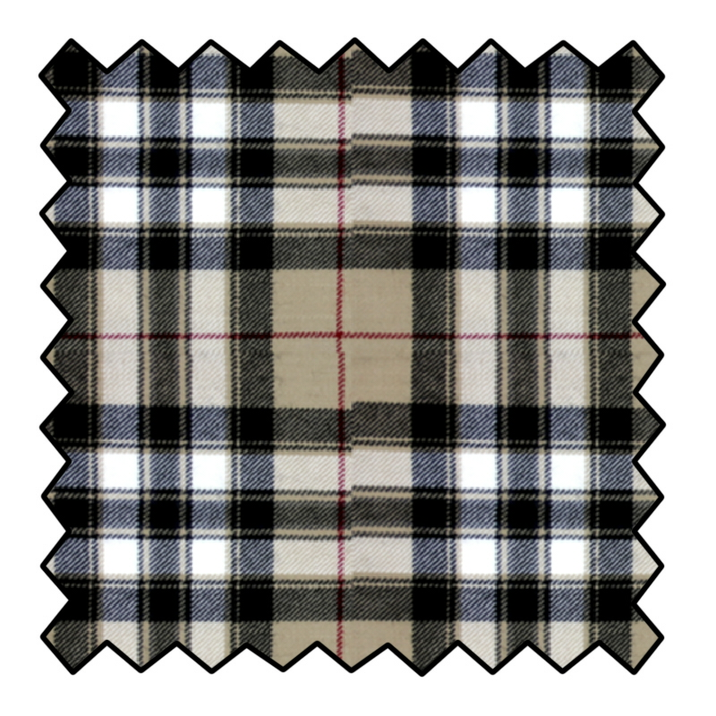 Pride of Scotland Wool Tartan Fabric Made To Order