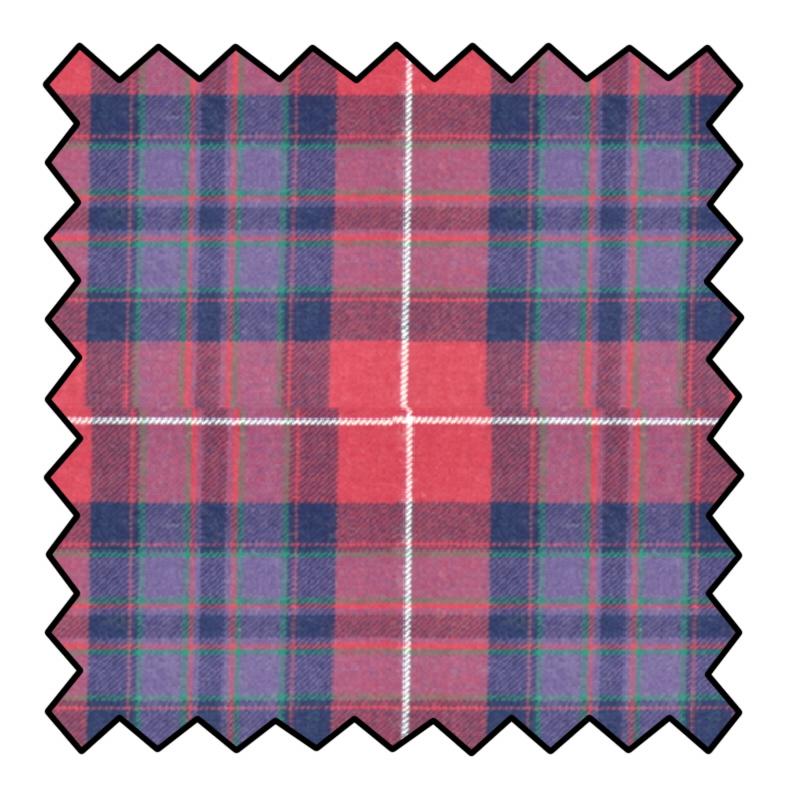 Pride of Scotland Wool Tartan FabricMade To Order