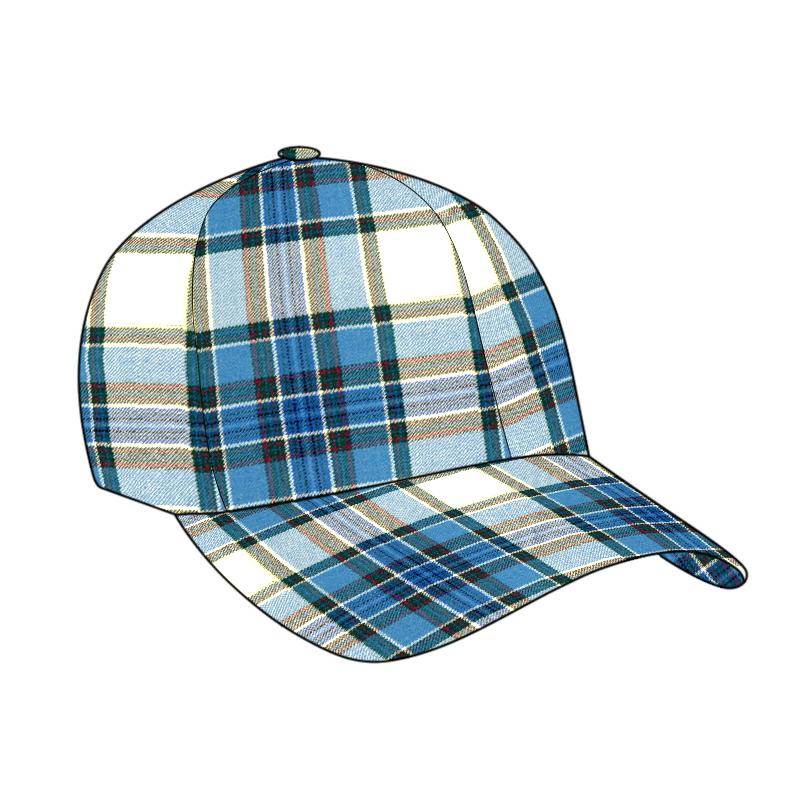Tartan Golf Cap