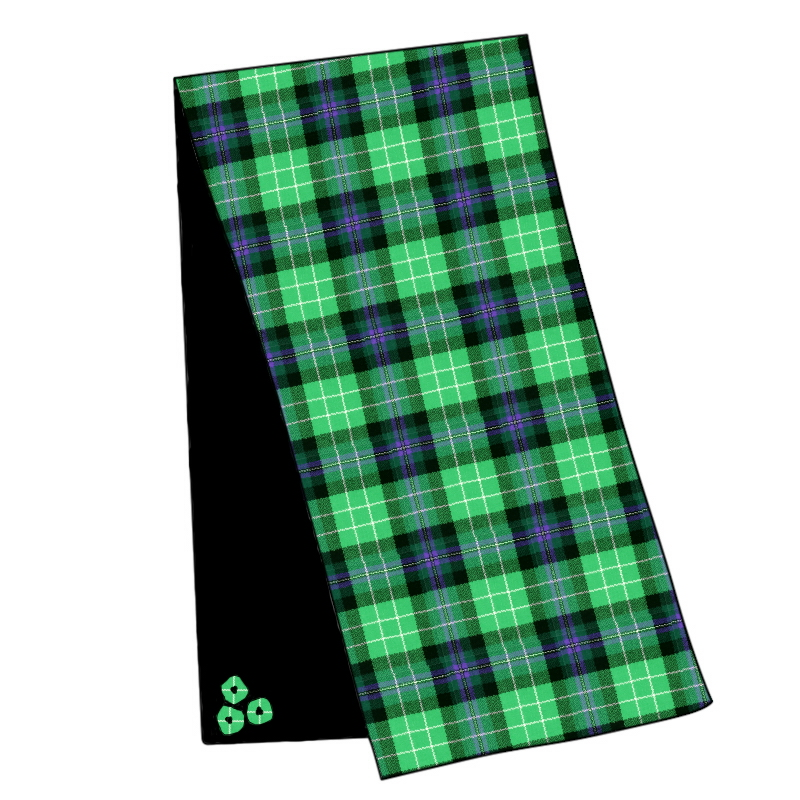 Pride of Scotland Wool Tartan Velvet Stole