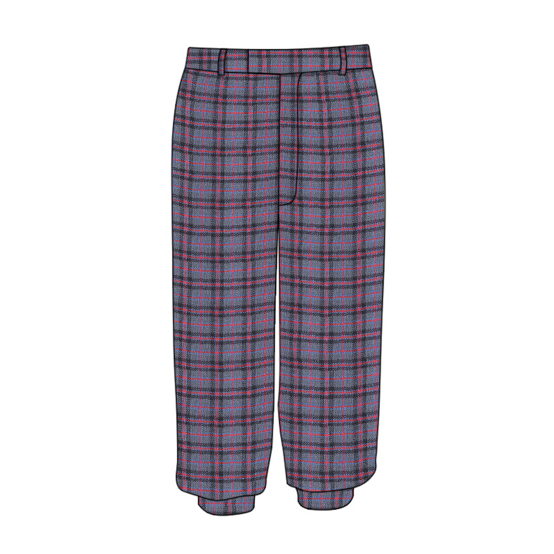 Machine Washable Tartan Plus Fours Made To Order