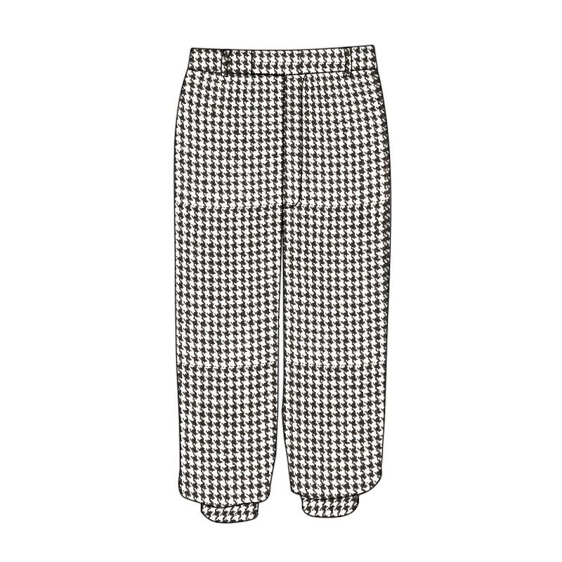 Pantalones de golf de tartán lavables a máquinaMade To Order