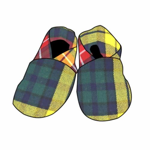 Tartan Baby Shoes