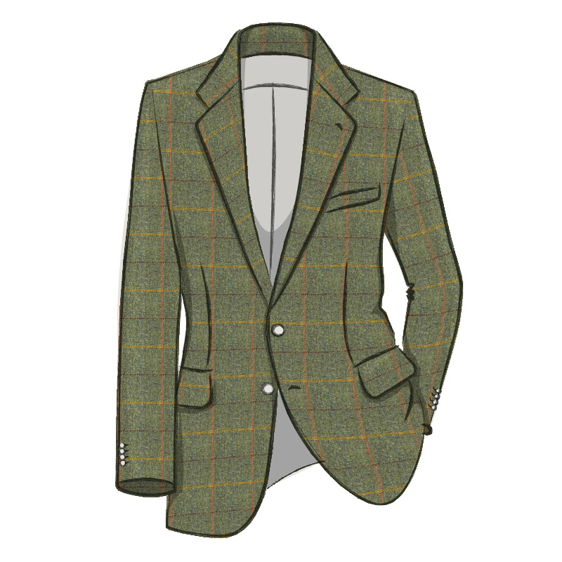 Traje de chaqueta en Tweed Made To Order