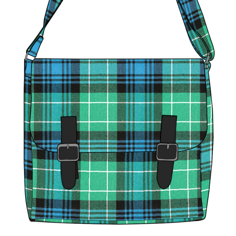 Tartan Messenger Bag Made To Order