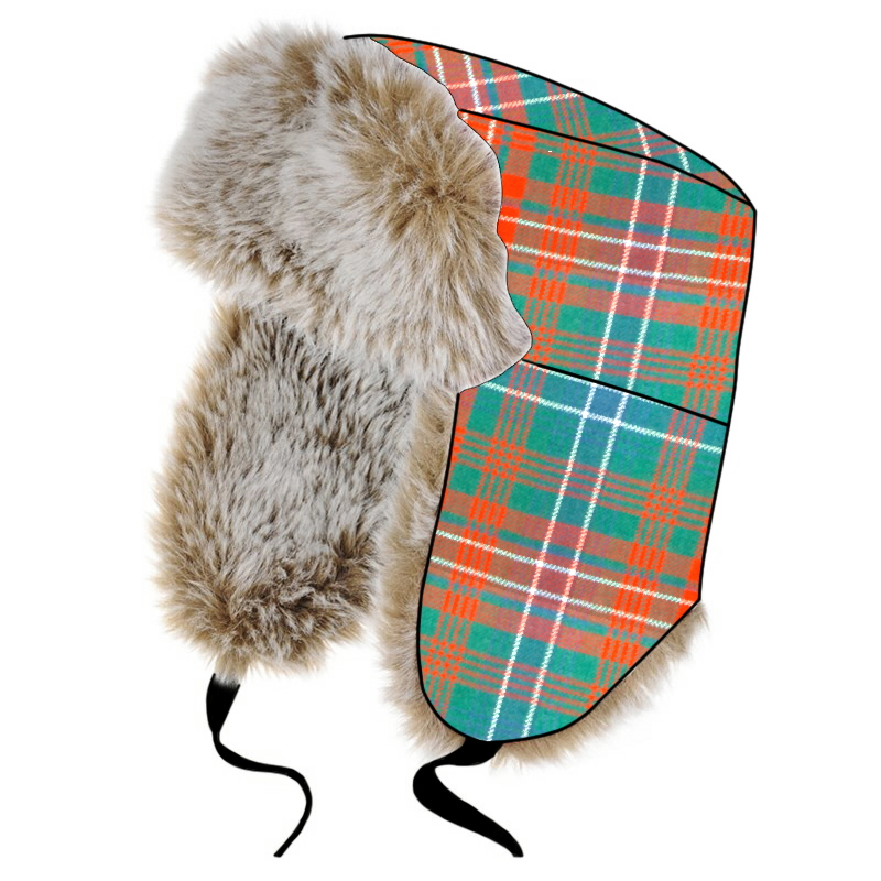 Children's Tartan Trapper Hat