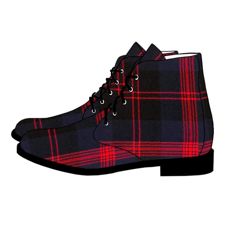 Men's Tartan BootsMade To Order