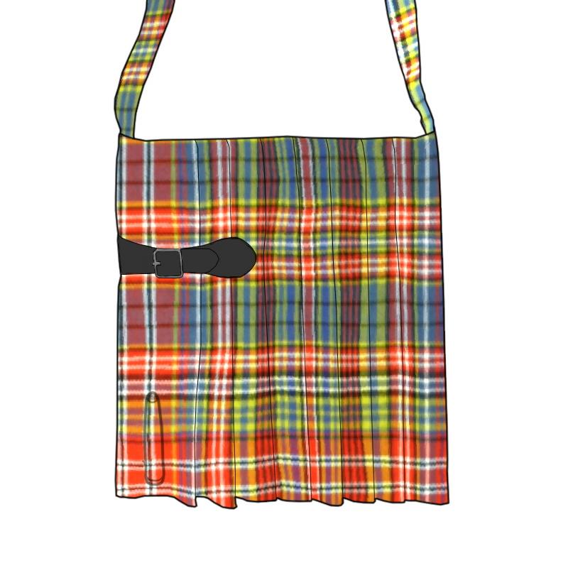 Tartan Kilt Bag