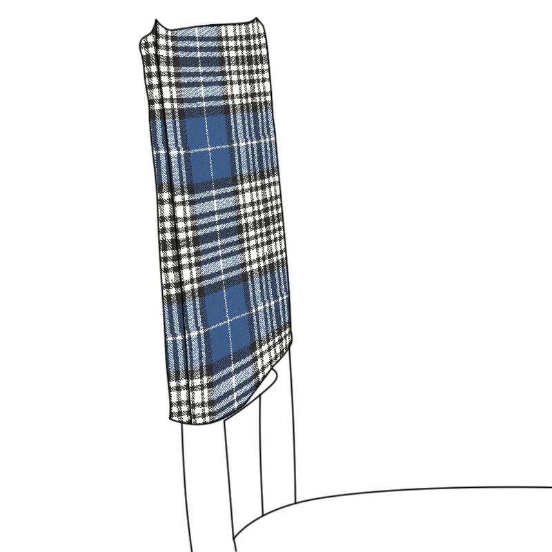 Tartan Chair Hoods