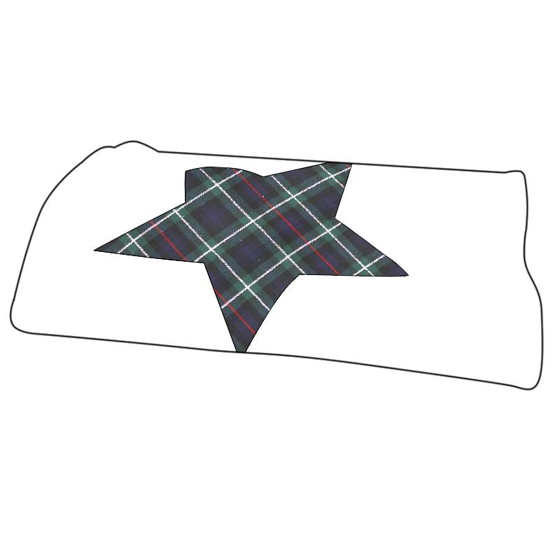 Tartan Star Baby Blanket
