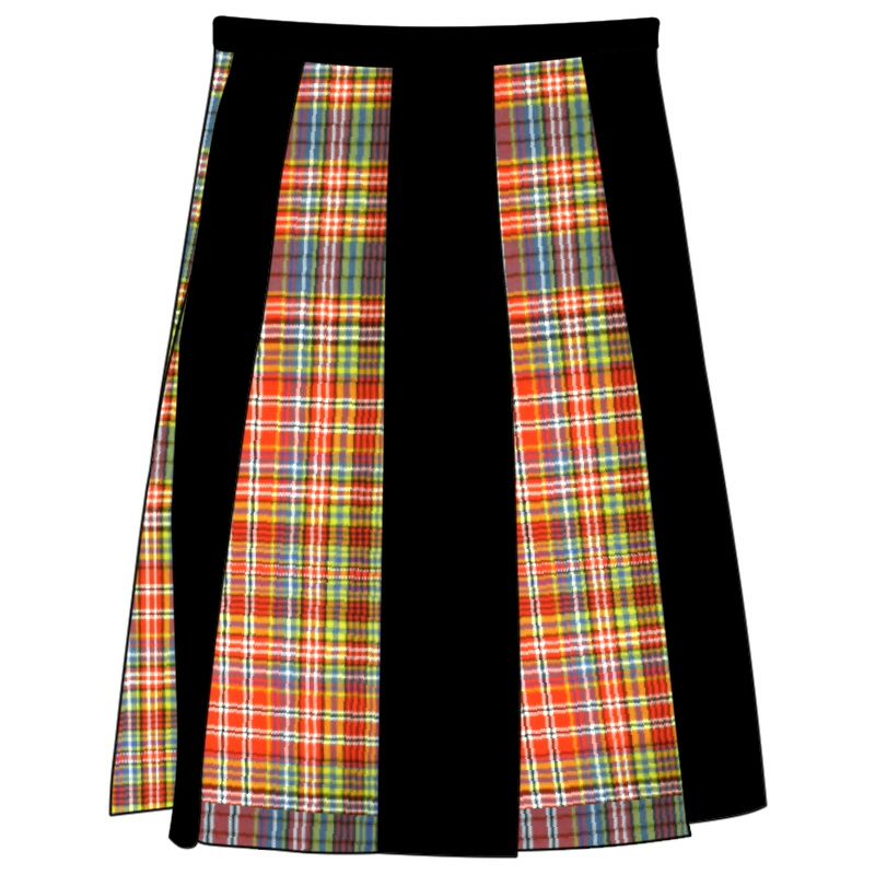 Striped Tartan Skirlt