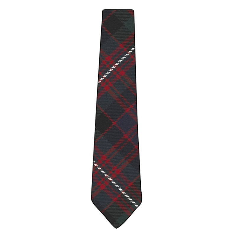Mens Tie All Wool Made in Scotland MacDonell of Glengarry Ancient Tartan