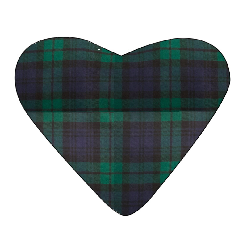 Tartan Heart Cushion