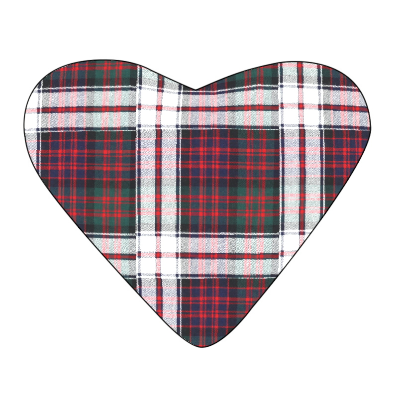 Tartan Heart Cushion Made To Order