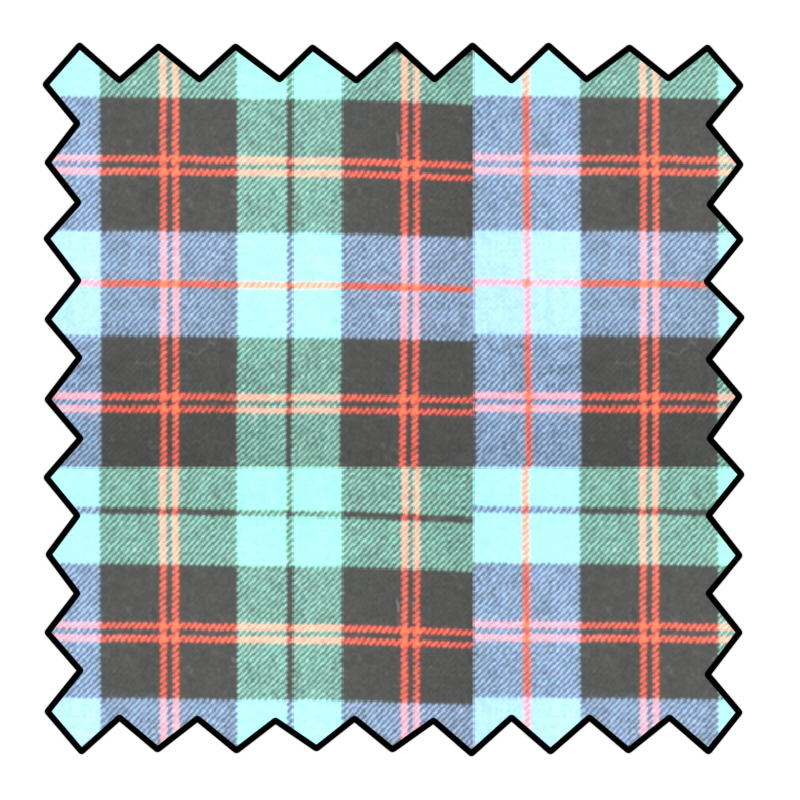 10oz Pure Wool Tartan Fabric Made To Order