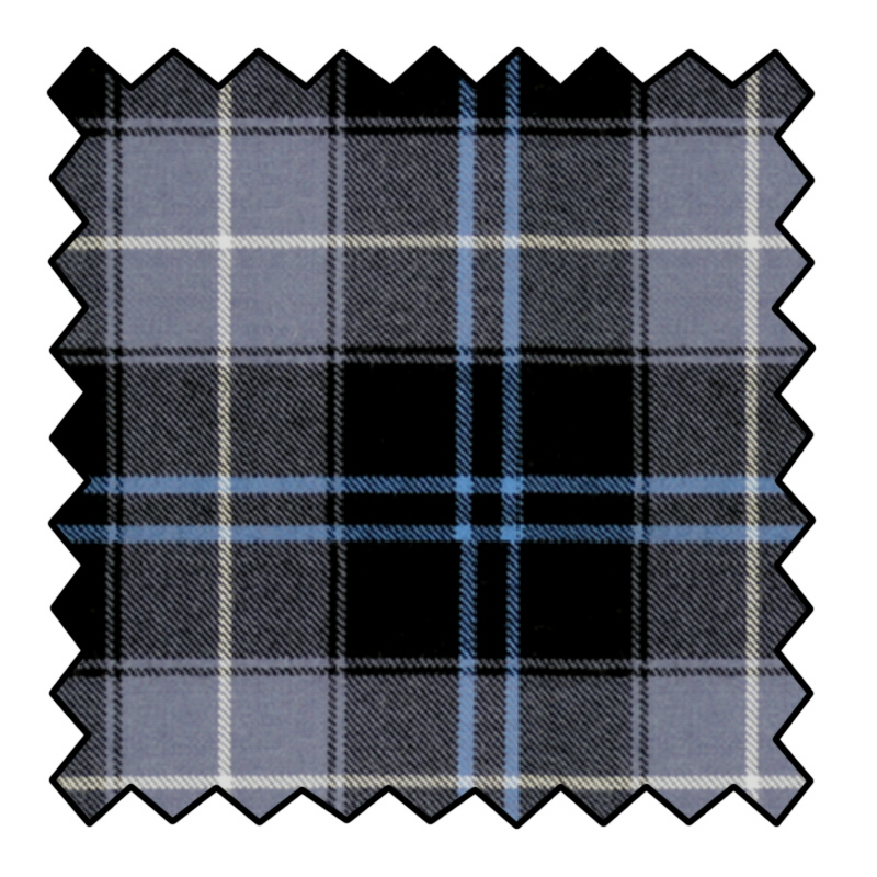 Tessuto in Tartan in Pura Lana a 10 once Made To Order