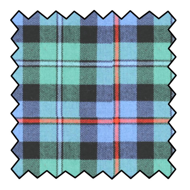 10oz Pure Wool Tartan FabricMade To Order