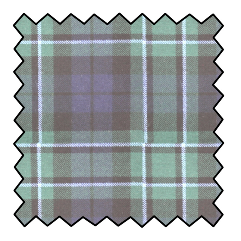 Tissu de Laine Tartan 10oz Made To Order
