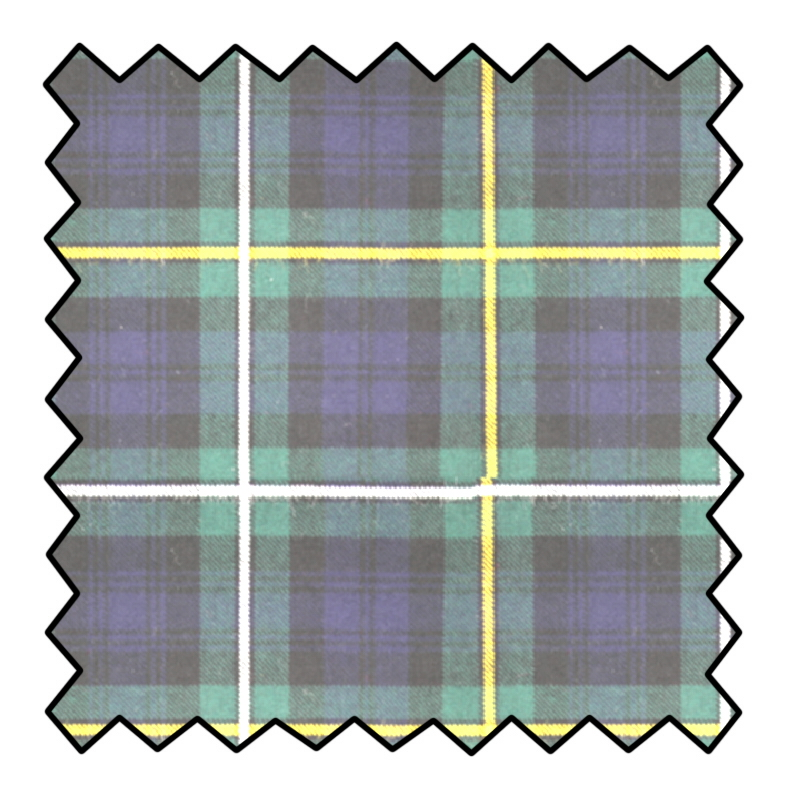 10oz Pure Wool Tartan Fabric