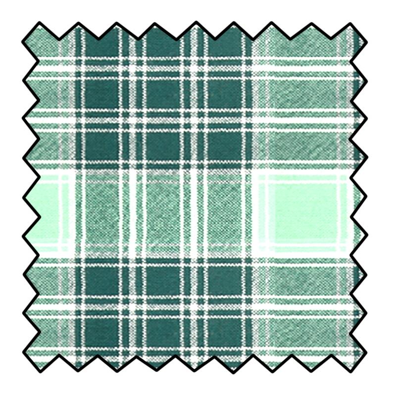 8oz Lightweight Wool Tartan FabricMade To Order