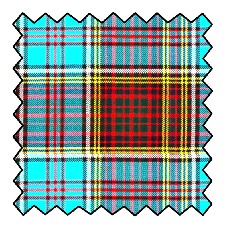 16oz Heavyweight Wool Tartan Fabric Made To Order