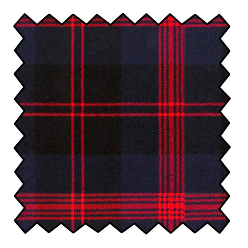 16oz Heavyweight Wool Tartan FabricMade To Order