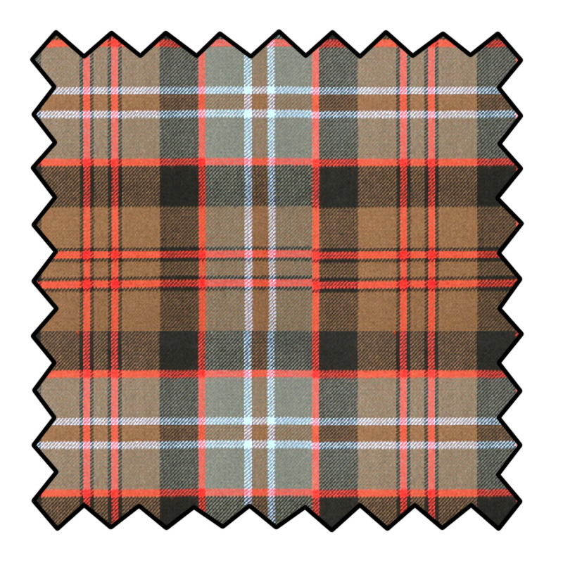 16oz tissu de laine ecossais épaisMade To Order