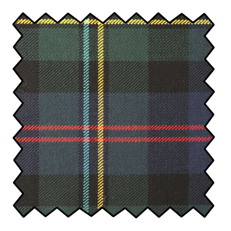 Polyviscose Tartan Fabric Made To Order