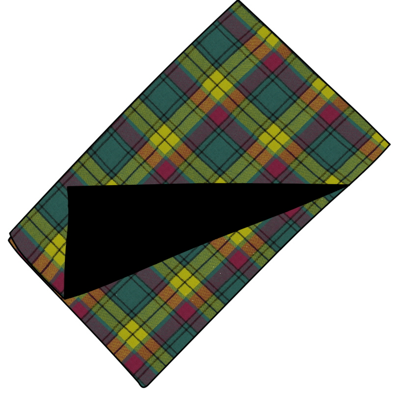 Fleece Backed Tartan Throw