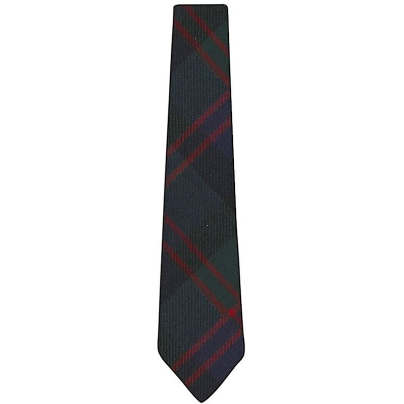 Extra Long Wool Tartan Tie in Blair Modern