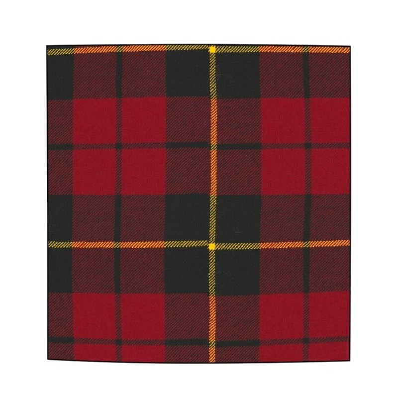 Plaid Wool Pocket Square in Wallace Modern