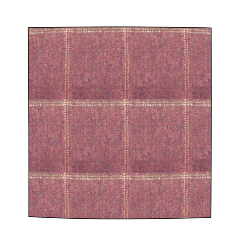 Plaid Wool Pocket Square in Cairngorm Red Kite (CGE142)