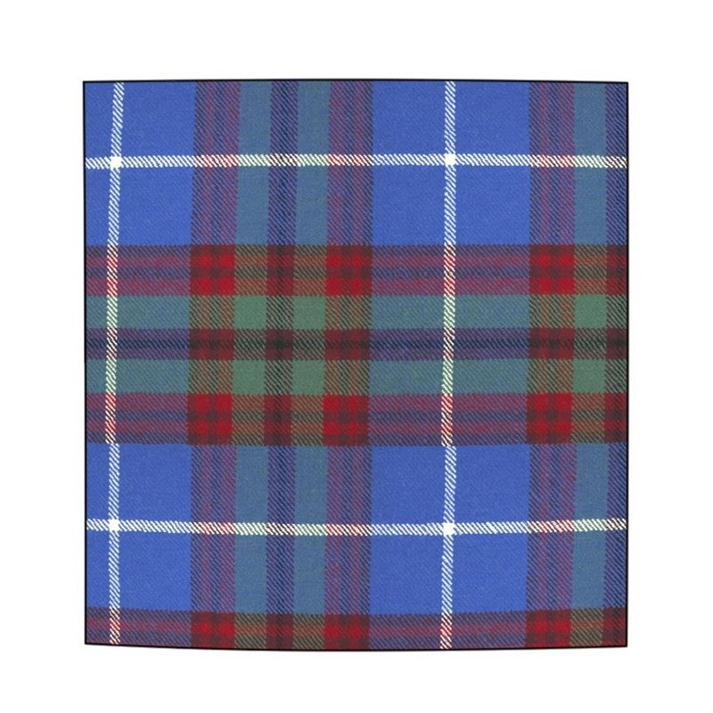 Plaid Wool Pocket Square in Edinburgh