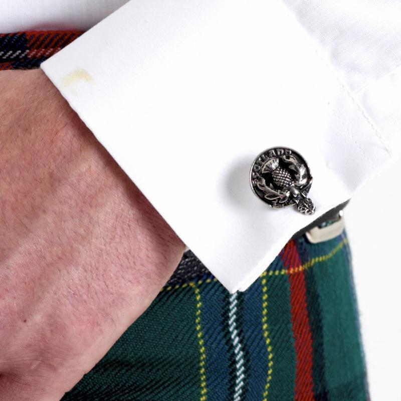 Colquhoun Scottish Clan Crest Cufflinks