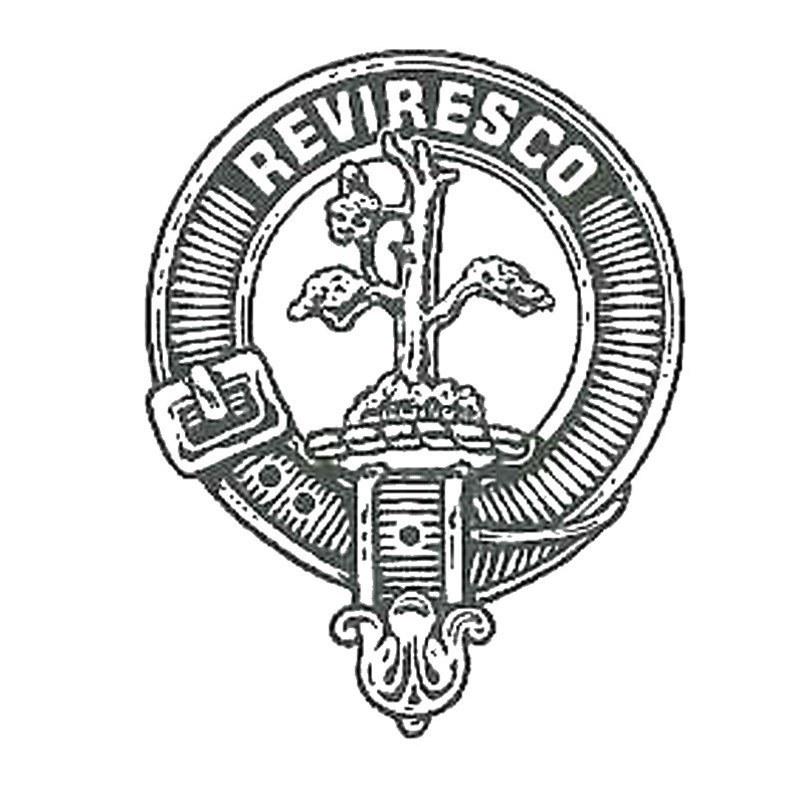 Clan Crest Belt Buckle in MacEwan Clan Crest