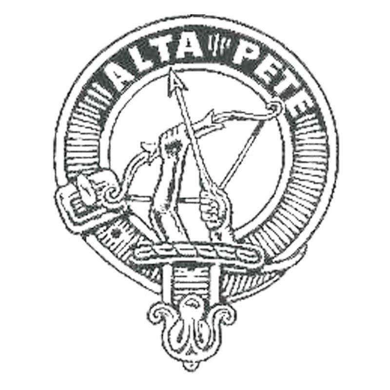 Clan Crest Kilt Pin in Fletcher Clan Crest
