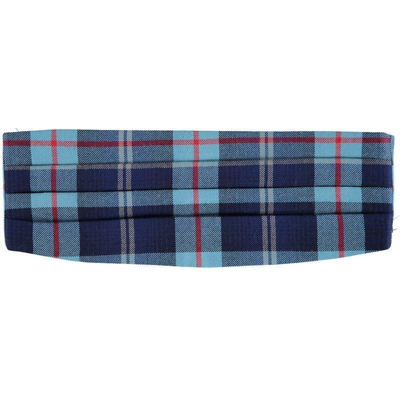 Wool Plaid Cummerbund in Help For Heroes