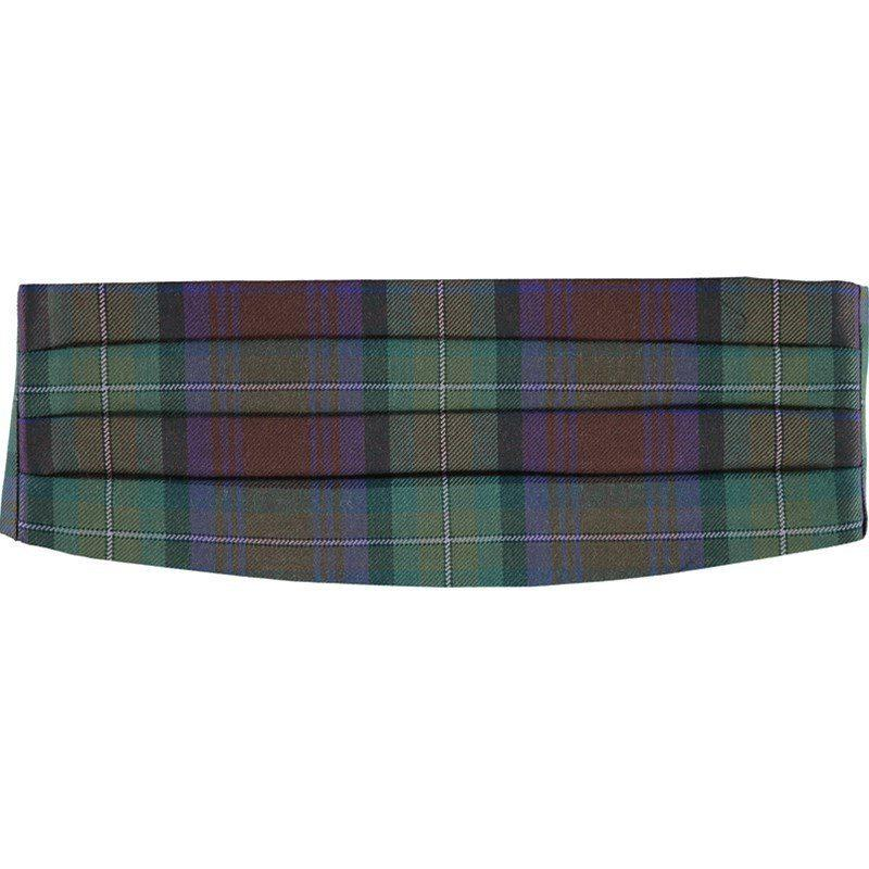Cummerbund en laine ecossais in Isle Of Skye