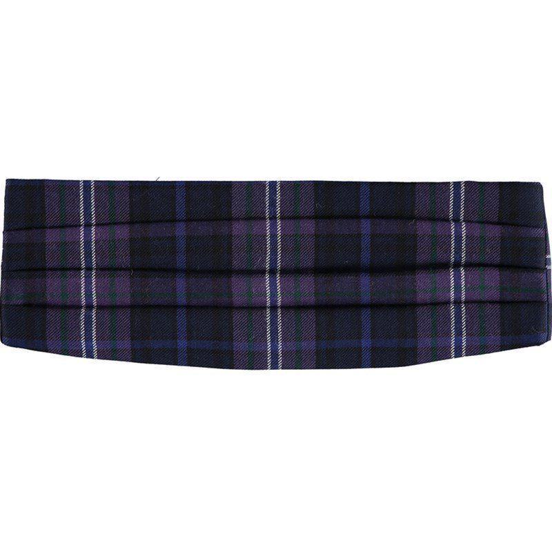 Cummerbund en laine ecossais in Scotland Forever