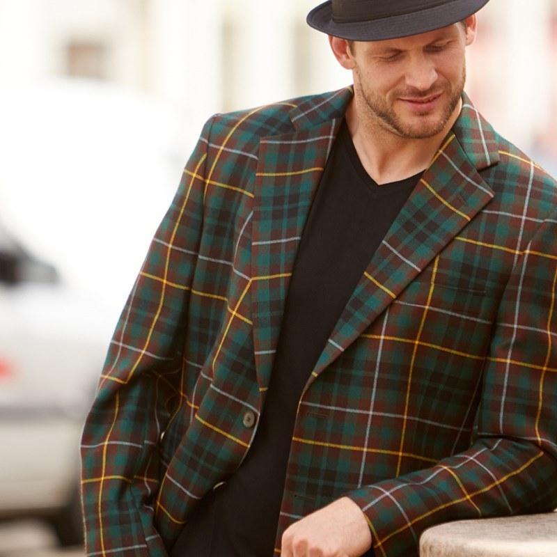 Buchanan Hunting Modern tartan jacket