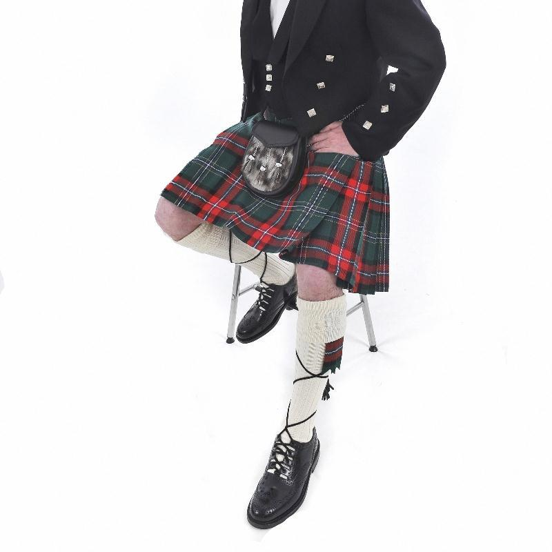 Men's Kilt Outfit: Casual Kilt & Prince Charlie Jacket Made To Order