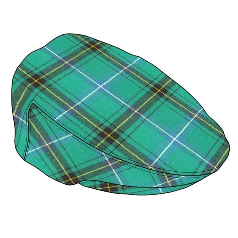 Tartan Flat Cap in Henderson Ancient