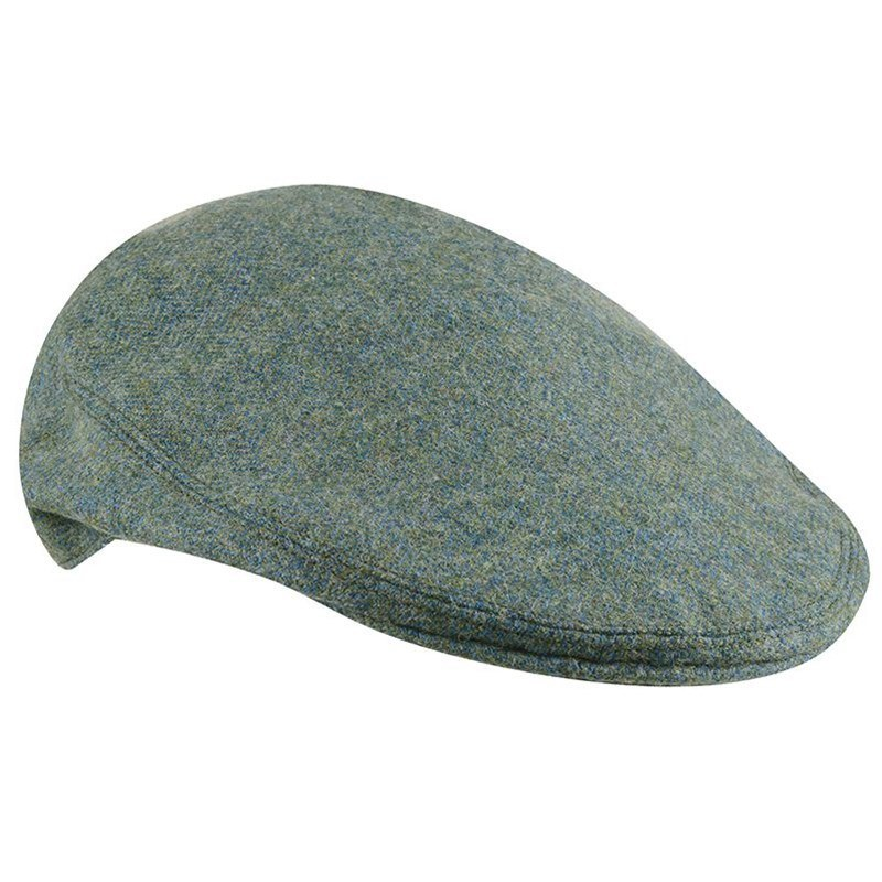 Tweed Flat Cap in Cheviot Sea Green (CHE038)