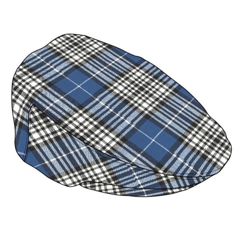 Flache Kappe aus Schottenstoff in Napier Modern
